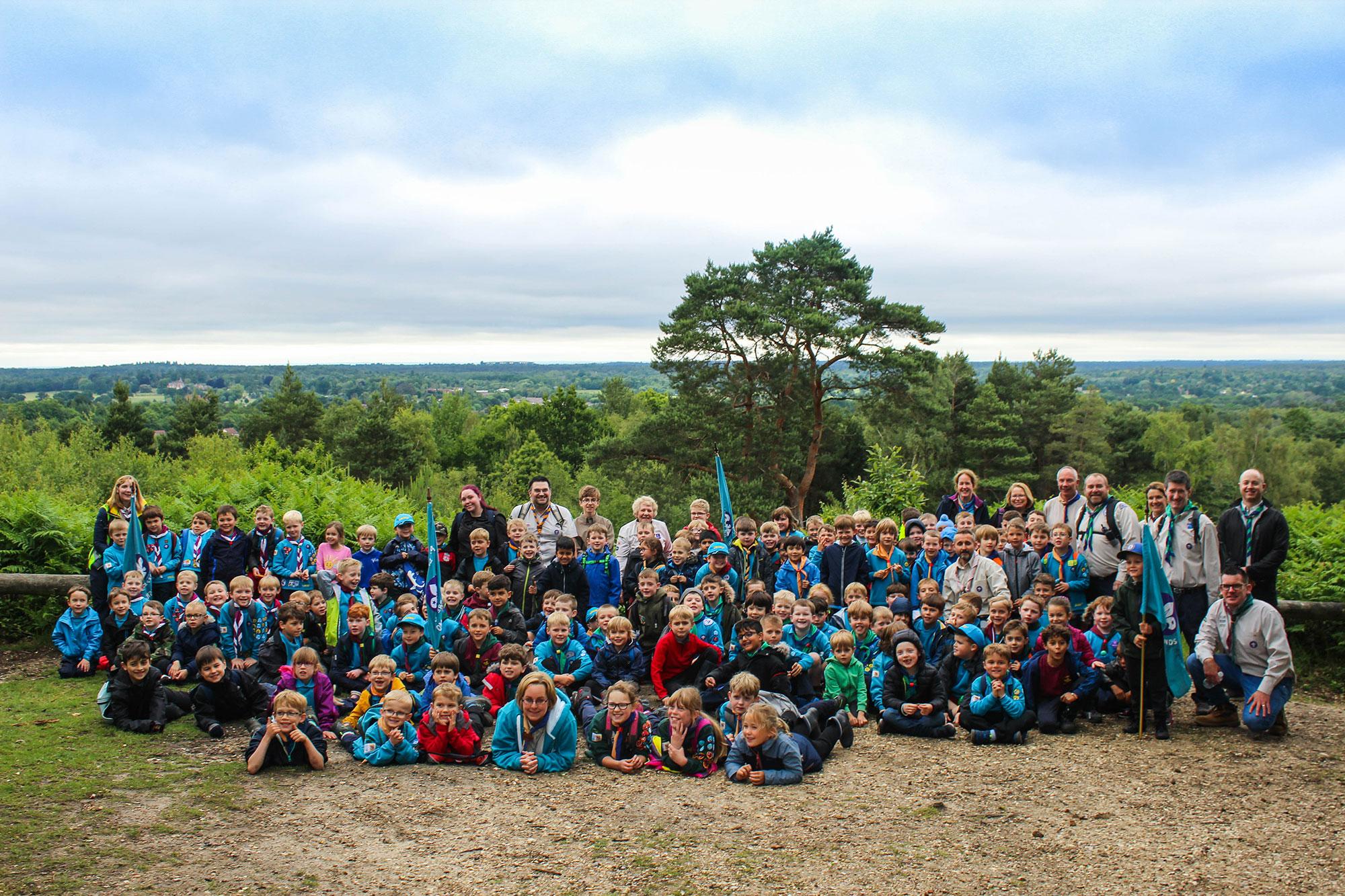 District Beaver Hike (June 2019)